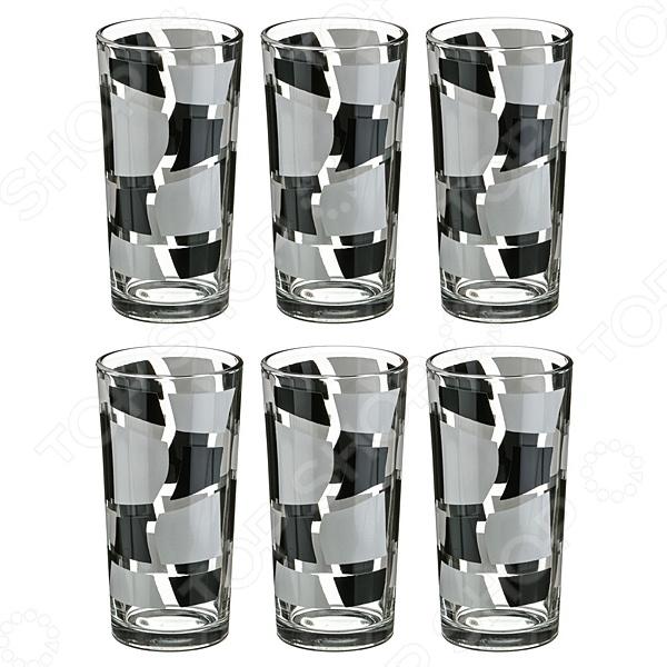 Набор стаканов для сока «Дуэт» 381-706