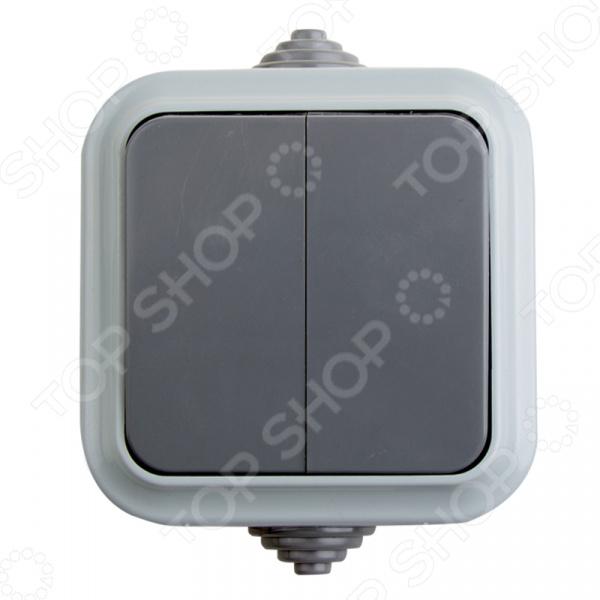 Переключатель влагозащищенный Rexant 78-0521 светильник для бани влагозащищенный термостойкий ip54