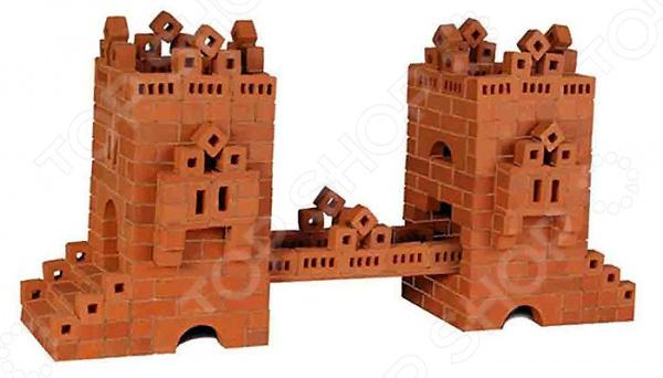 Конструктор из глины Brick Master 105 «Мост» brick master кирпичики беседка