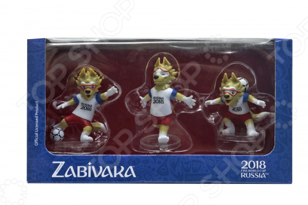 Набор фигурок декоративных FIFA 2018 Zabivaka set celebrating fifa 2014 как игрока