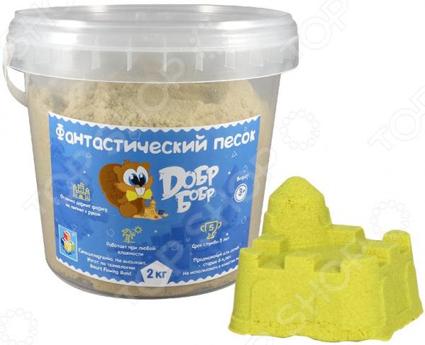 Песок кинетический 1 Toy большой «Добр бобр»