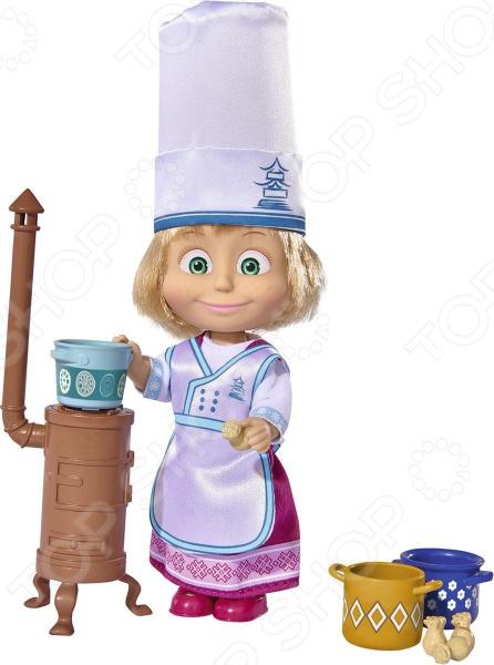 Кукла с аксессуарами Simba «Маша в одежде повара» кукла simba маша в одежде художницы с набором для рисования 12 см