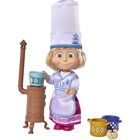 Купить Кукла с аксессуарами Simba «Маша в одежде повара»
