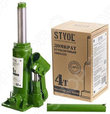 Домкрат гидравлический бутылочный Stvol