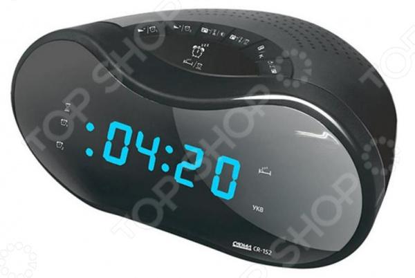 Радиобудильник СИГНАЛ CR-153 max cr 2905g black green радиобудильник