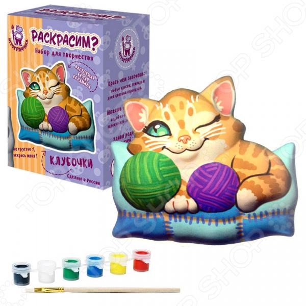 Набор для росписи керамики Игрографика «Заяц» набор для росписи керамики игрографика кролик