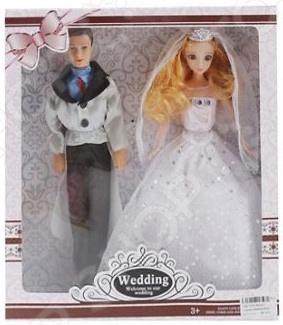 Набор кукол Наша Игрушка «Свадьба»