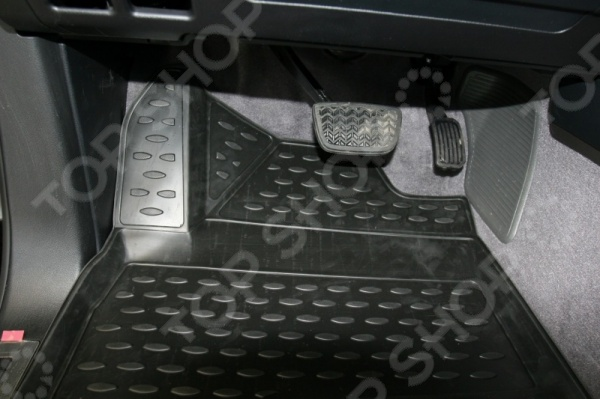 Комплект 3D ковриков в салон автомобиля Novline-Autofamily Toyota Land Cruiser 200 2007-2012 leaves pineapple print floor rug