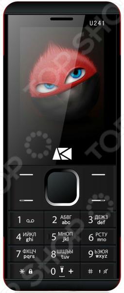 Мобильный телефон ARK Benefit U241 сотовый телефон ark benefit u241 red
