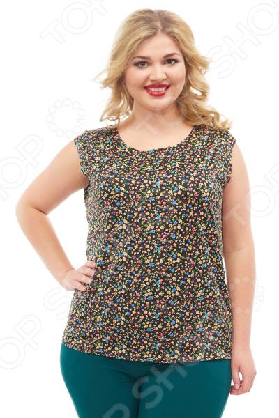 Блуза Элеганс «Верия». Цвет: черный