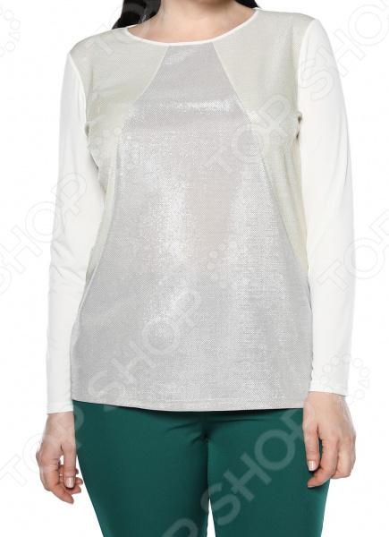 Блуза Лауме-Лайн «Чувство стиля». Цвет: белый блуза лауме лайн шикарный букет цвет розовый