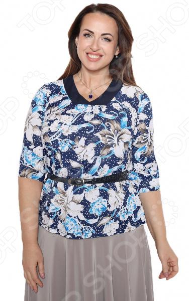 Блуза Blagof «Звездная роса». Цвет: голубой