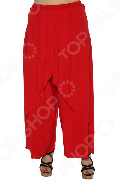 цена Юбка-брюки Pretty Woman «Крылья Пегаса». Цвет: красный онлайн в 2017 году