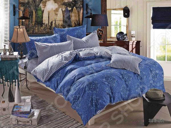 Комплект постельного белья Cleo 396-SK комплекты постельного белья cleo постельное белье hunter 2 спал