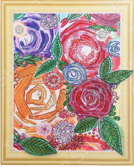 Набор для творчества Color Kit «Алмазная мозаика». Рисунок: «Винтажные цветы»