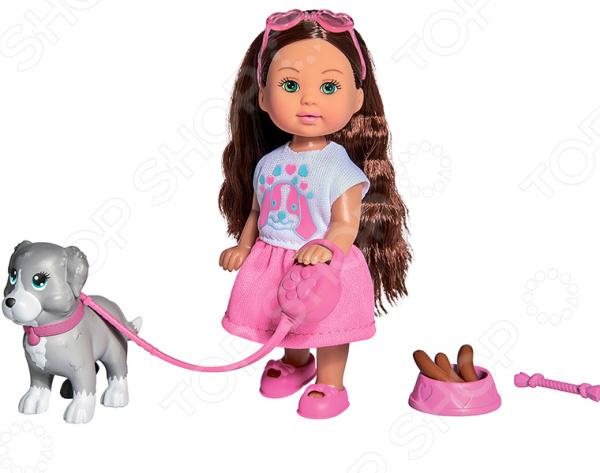 Набор игровой с куклой Simba Holiday «Еви с собачкой»