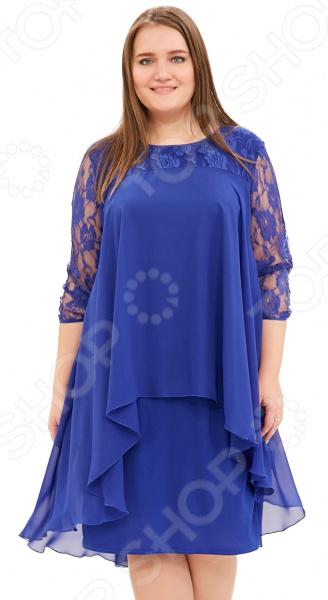 Платье Pretty Woman «Небесная красота». Цвет: васильковый