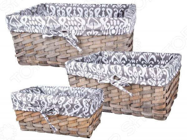 Zakazat.ru: Набор плетеных корзин Miolla QL400435