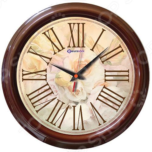 Часы настенные Eurostek 2121-08 часы настенные eurostek 2026 сн r671