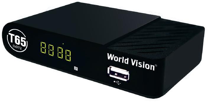 Цифровой телевизионный приемник World Vision T65
