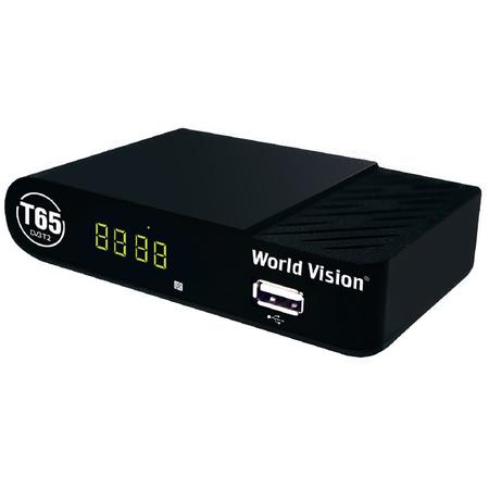 Купить Цифровой телевизионный приемник World Vision T65