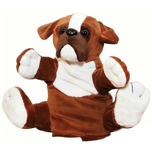 фото Мягкая игрушка на руку Gulliver «Бульдог»
