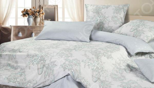Комплект постельного белья Ecotex «Корнелия» комплект постельного белья ecotex 2 х сп сатин сюссан кгмсюссан
