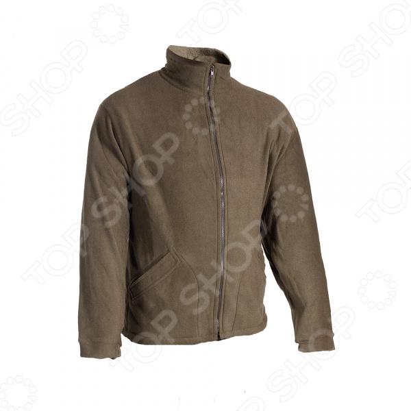 Куртка флисовая Huntsman «Байкал». Цвет: хаки Куртка флисовая Huntsman BL-200-K /60-62