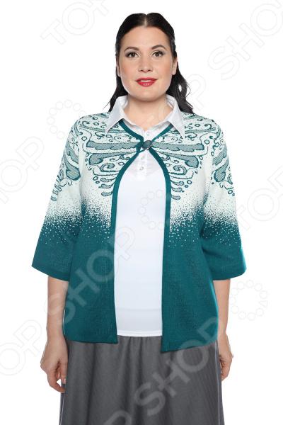 Жакет Milana Style «Теплые рассказы». Цвет: зеленый платье milana style milana style mi038ewxjv28