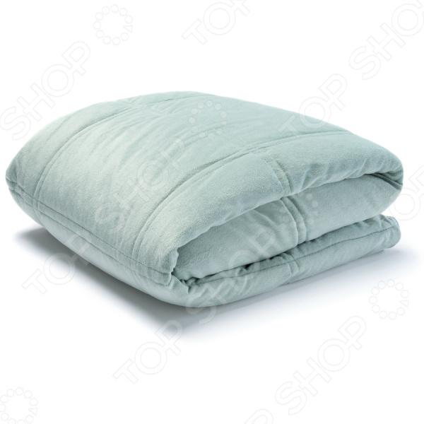 Плед-подушка Dormeo «Уют» 3 в 1. Цвет: мятный. Уцененный товар