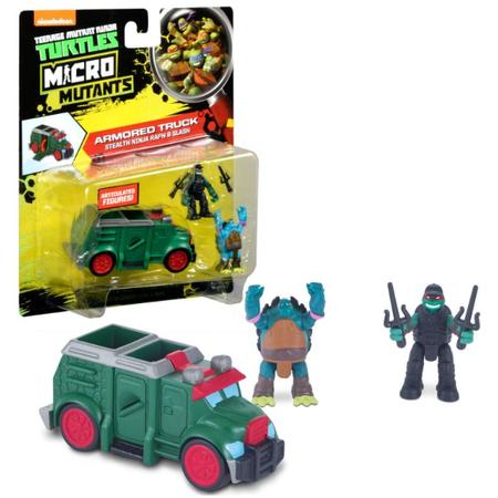 Купить Игровой набор Nickelodeon Armoured Truck. Stealth Ninja Raph&Slash