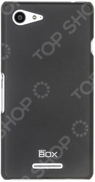 Чехол защитный skinBOX Sony Xperia E3 dual майка борцовка print bar tupac forever