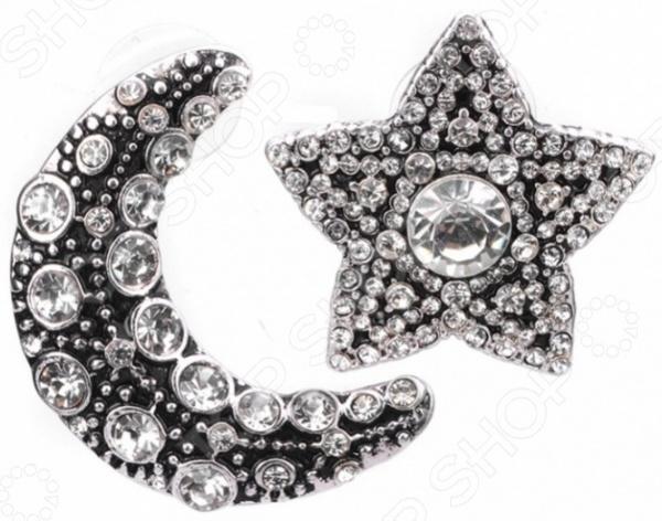 Серьги Bradex «Мунстар» серьги bradex жемчужные звезды