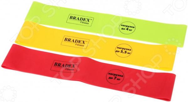 Набор эспандеров Bradex «Фитнес резинки» тренажер для тела bradex фитнес тренер