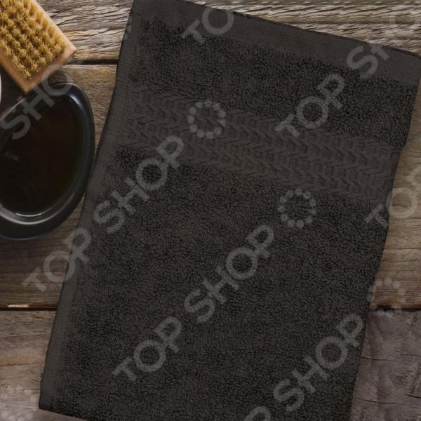 Полотенце махровое Amore Mio AST Classic. Цвет: коричневый полотенце махровое amore mio ast classic цвет малиновый