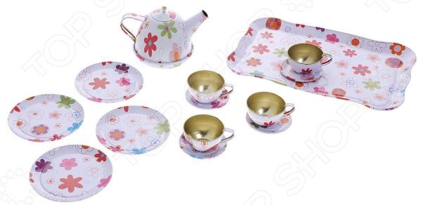 Игровой набор для девочки ABtoys «Помогаю Маме. Набор для чаепития»