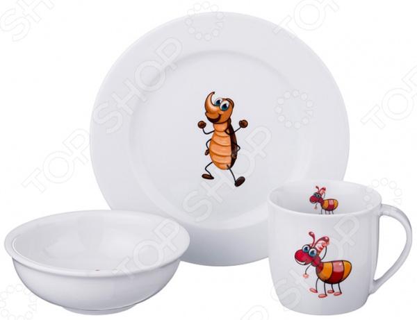 Набор посуды для детей Dubi «Зверята» 606-835