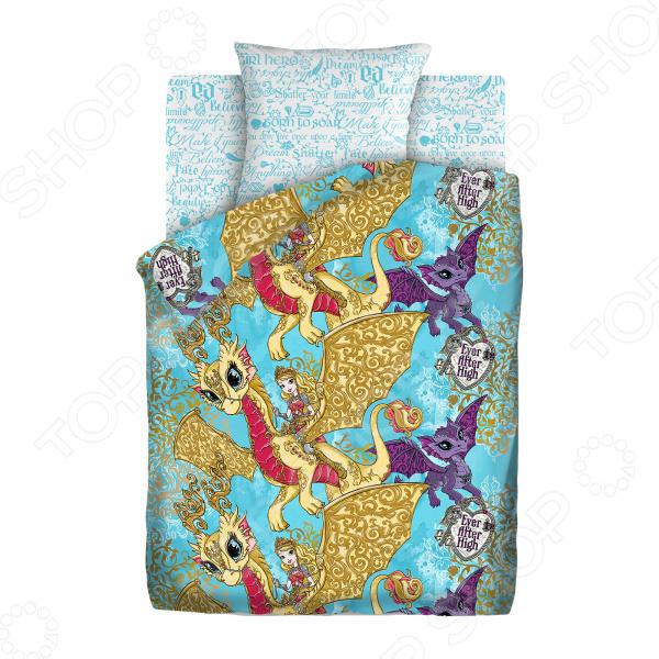 Детский комплект постельного белья Непоседа «Игры Драконов»