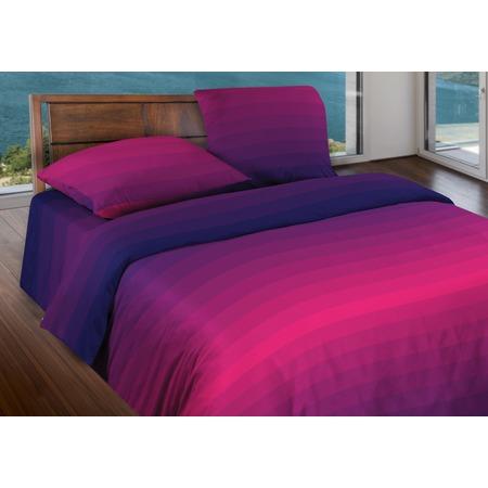 Купить Комплект постельного белья Wenge Flow. 1,5-спальный. Цвет: пурпурный