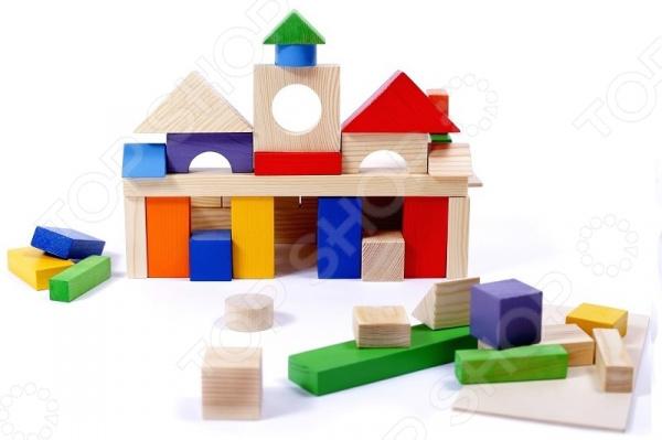 Конструктор деревянный PAREMO «Домики окрашенные» Конструктор деревянный PAREMO «Домики окрашенные» /