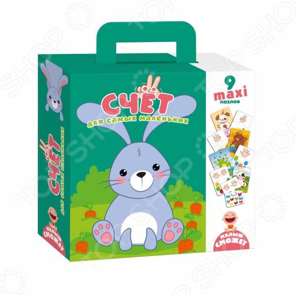 Пазл фигурный детский Vladi Toys «Счет»