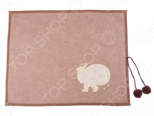 Салфетка для сервировки «Дед Мороз» 850-817-63 салфетка сервировочная vesta dosh i home салфетка сервировочная vesta