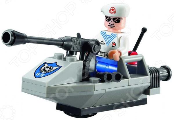 Конструктор игровой Brick «Морской патруль» игрушка wow морской патруль сэмми 10322