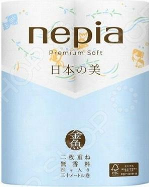 Туалетная бумага Nepia Premium Soft 269122