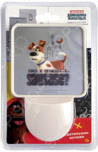 Ночник Тайная жизнь домашних животных PETS с датчиком освещенности бандаж для домашних животных andover с латексом и рисунком в ассортименте