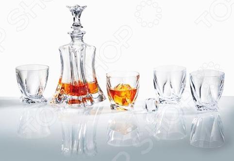 Набор для виски: штоф и стаканы Luminarc Elise
