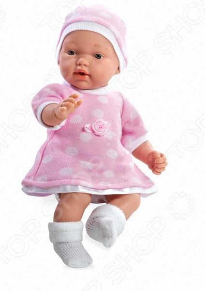 Кукла интерактивная Arias с соской «Девочка» кукла интерактивная arias т58639