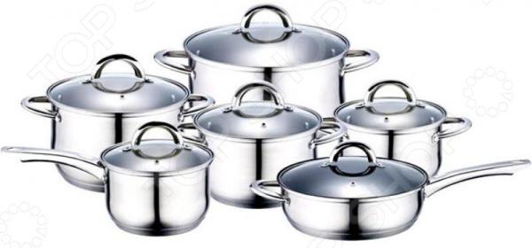 Набор посуды Wellberg WB-4360