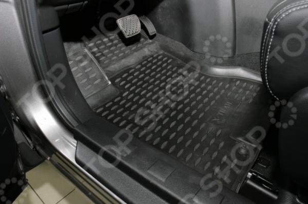 Комплект ковриков в салон автомобиля Novline-Autofamily Nissan X-Trail T31 2007-2010 / 2011-2015