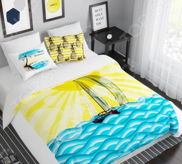 Комплект постельного белья Сирень «Путешествие к мечте»